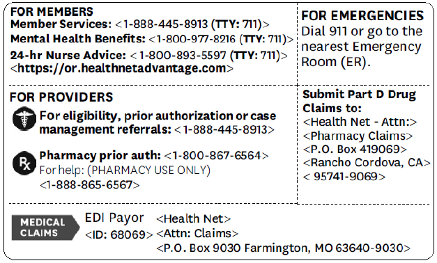 Medicare Information Policies
